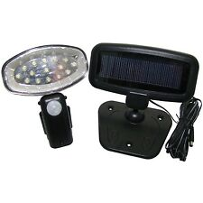 RECHARGEABLE 15LED SOLAR POWER LIGHT PIR MOTION SENSOR SECURITY GARDEN,SHED ETC