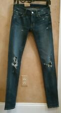 NWT $125, Denim & Supply Ralph Lauren Womens Dylan Distressed Skinny Jeans 25X32