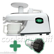 Green Star ELITE GSE-5000 Juicer GreenStar wheatgrass