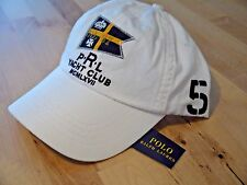 POLO RALPH LAUREN strapback PRL YACHT CLUB hat cap buckleback buckle back NWT