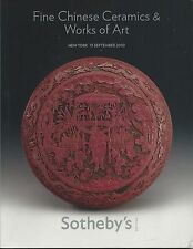 SOTHEBY'S CHINESE CERAMICS ARCHAIC BRONZES JADE FURNITURE PAINTINGS Catalog 2010