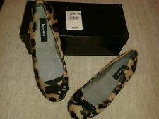 LADIES 'TINTORETTO'  ANIMAL PRINT BALLERINA STYLE SHOES SIZE 4/37   BRAND NEW!