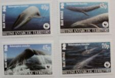 Endangered species: Blue whales stamps, 2003, British Ant. SG ref: 361-364, MNH