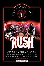 Canadain Rock: RUSH Rock & Roll Hall of Fame Promotional Poster