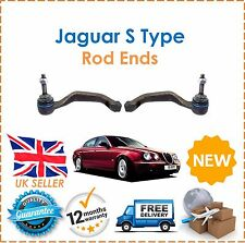 For Jaguar S Type 2.5 2.7TD 3.0 4.0 4.2 Type 2 Front Outer Track Rod Ends x2