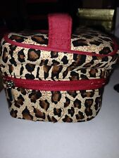 Travel Jewelry Box in Leopard Design - Lovely & Functional! - NEW