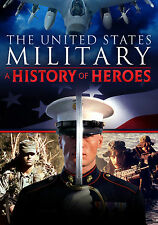 The United States Military: A History of Heroes (DVD, 2013, 2-Disc) Army Navy