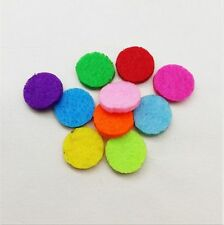 (20 Pack) Mix Aromatherapy Essential Oil Perfume Diffuser Locket 20mm Refill Pad