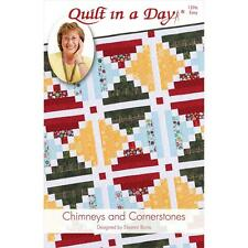 Quilt Pattern ~ CHIMNEYS AND CORNERSTONES  ~ by Eleanor Burns - Quilt in a Day