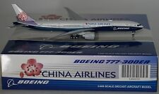 JC Wings LH4020 Boeing 777-309(ER) China Airlines B-18007 in 1:400 scale