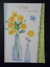 """Happy Mother's Day Card with Envelope """" To My Wife """" (MD-155)"""