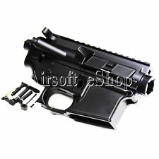 Airsoft APS Upper & Lower Metal Body for M4/M16 AEG Black
