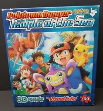 3D Puzzle Pokemon Ranger and The Temple of the Sea by Visual Echo 100 Pieces
