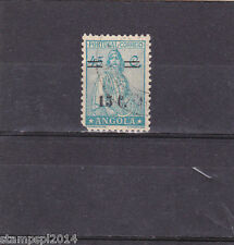 ANGOLA  CERES SURCHARGED 15 c. s/ 45 c. (1942)