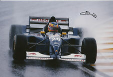 Karl Wendlinger Hand Signed Red Bull Sauber Ford F1 12x8 Photo.