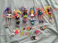 Betty Spaghetty Spaghetti Mix and Match Doll + Pieces Lot