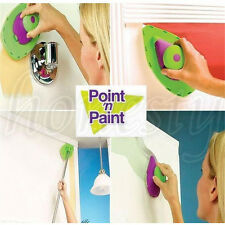 Paint Roller And Tray Set Painting Brush Point N Paint Household Decor Tool New