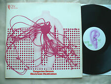 TANGERINE DREAM- ELECTRONIC MEDITATION 1970 PROG PSYCH GER. OHR LBL PSYCHEDELIC!
