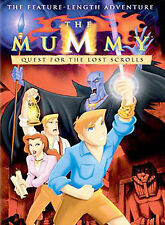 The Mummy: Quest for the Lost Scrolls ~ DVD, 2002 ~ NEW & SEALED!