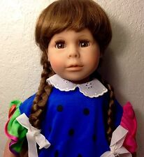 "RARE 1980's Silvia Creation LIMITED ED Character 19"" Doll-Artist:Theo Menzenbach"