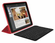 Logitech Keys To Go Portable Bluetooth Keyboard iOs iPad, Apple TV, iPhone Black