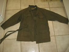 BDU GREEN JACKET CANADIAN USED ARMY FATIGUES SIZE MEDIUM SERENGETI PLAINS BRAND