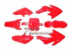 PLASTIC FENDER RED KIT HONDA CRF XR XR50 CRF50 50 P PS03