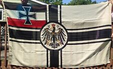 ORIGINAL MUSEUM QUALITY WWI IMPERIAL GERMAN NAVY KRIEGSFLAGGE FLAG PRE NAZI