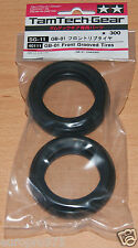 Tamiya 40111 TamTech-Gear GB-01 Front Grooved Tires/Tyres (GB01), NIP
