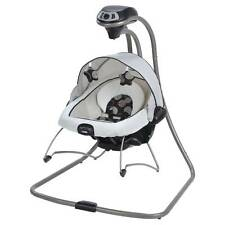Graco Duet Connect Baby Infant Swing & Bouncer DLX Milan Collection Gently Used
