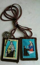 St. Saint Simon Stock Our lady of Mt. Carmel Scapular Saint Benedict medal