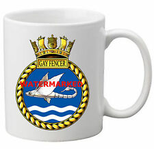 HMS GAY FENCER COFFEE MUG