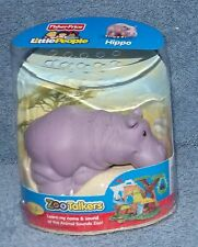 FISHER PRICE LITTLE PEOPLE ZOO TALKERS ANIMAL HIPPO SET