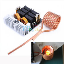 Hot 1000W ZVS Low Voltage Induction Heating Board Module/Tesla coil 12-48