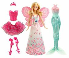 NEW Barbie Fairytale Mix and Match Dress Up Playset, Princess, Fairy or Mermaid