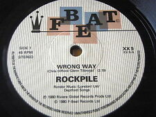 "ROCKPILE - WRONG WAY    7"" VINYL"