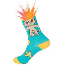 Gumball Poodle Crew Socks - Good Luck Trolls - Banana Split Troll - Unisex