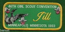 VINTAGE GIRL SCOUT PATCH - 46th GIRL SCOUT CONVENTION - MINNEAPOLIS 1993