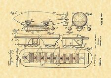 Patent Print - Dirigible 1934 - Steampunk / Airship. Ready To be Framed!