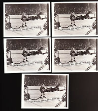 5 LOT BOBBY ORR ONTARIO SPORTS CARDS FLYING through air LE #d boston bruins