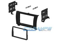 DOUBLE 2 DIN CAR STEREO RADIO DVD/CD PLAYER DASH INSTALLATION MOUNTING TRIM KIT