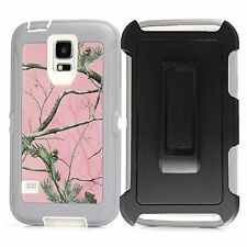 New Defender Protective Case w/Clip & Screen Protector For Samsung Galaxy S5