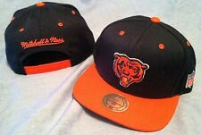 CHICAGO BEARS MULTI TEAM COLOR FLAT BRIM SNAPBACK RETRO NFL CAP MITCHELL & NESS