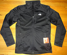 NWT The North Face Mens Stretch Smooth TKA Cinder Fleece Jacket S SMALL BLACK