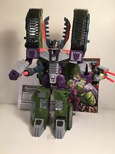 TRANSFORMERS Armada MEGATRON with minicon Leader-1 loose 2002