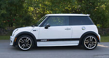 Genuine 3M vinyl side stripes for Mini Cooper S - OEM quality decals