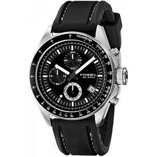 Fossil Men's CH2573 'Decker' Chronograph Black Silicone Watch