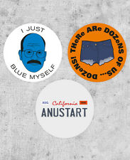 "3 Tobias Funke Stickers! - ""I'm afraid I just blue myself"" Arrested Development"