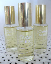 3 Coty JOVAN MUSK FOR WOMEN Cologne Concentrate SPRAY 0.875 oz each - NEW nb