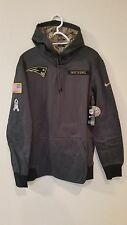 NEW ENGLAND PATRIOTS 2016 NIKE NFL SALUTE TO SERVICE HOODIE 2XL
